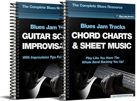 blues guitar scales and chord chart
