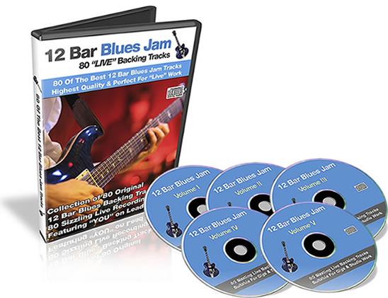 12 bar blues backing tracks