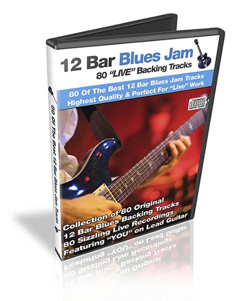12 bar blues jam tracks